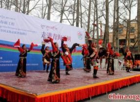 """""""春雨工程""""北京文化志愿者边疆行——走进青海玉树"""